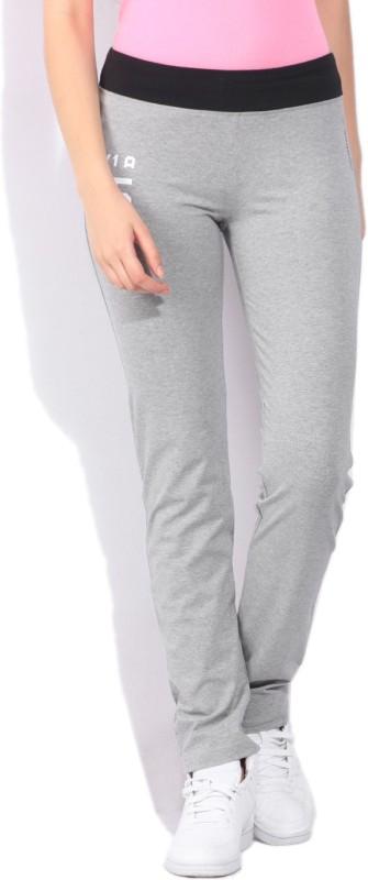 Reebok Daniel Solid Women's Grey Track Pants
