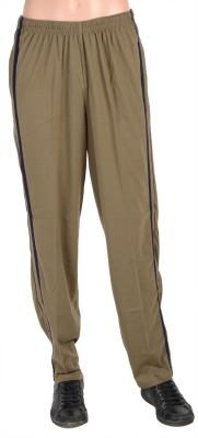 Gazelle Solid Men's Brown Track Pants
