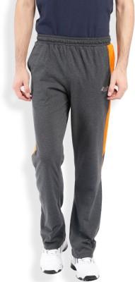 2go Solid Men's Grey, Orange Track Pants