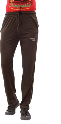 HUMBERT Solid Men's Brown Track Pants