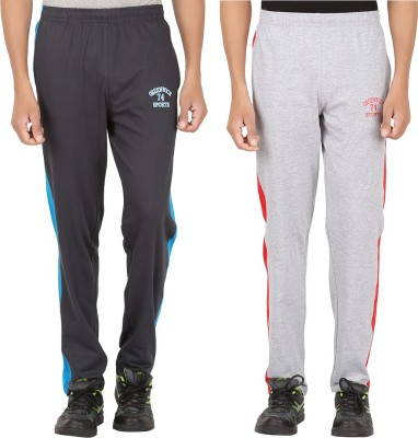 Greenwich Solid Men's Grey Track Pants