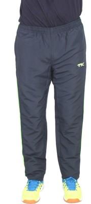 TK Mag Striped Men's Dark Blue Track Pants