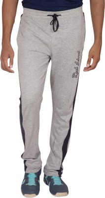 Red Line Solid Men,s Grey Track Pants