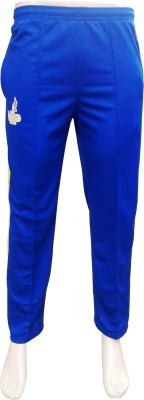VSP Solid Men's Blue, Yellow Track Pants