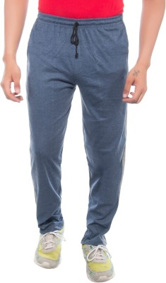 Ckl Solid Men's Dark Blue Track Pants