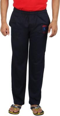 Fizzique Club Embd Solid Men's Blue Track Pants
