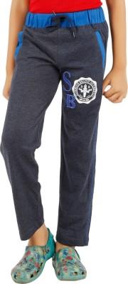 BIKER BOYS Solid Boy's Grey Track Pants