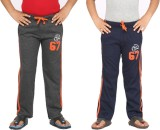 Greenwich Track Pant For Boys (Orange)