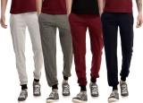 Meebaw Solid Men's Grey, Grey, Maroon, D...