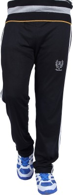 HUMBERT Solid Men's Black Track Pants