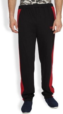 Difference of Opinion Solid Men's Black Track Pants