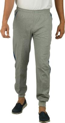 Kanter Solid Men's Grey, Blue Track Pants
