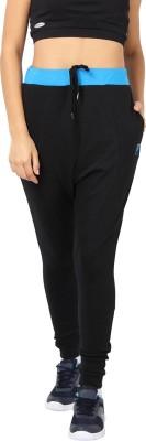 Proline Self Design Women's Black Track Pants at flipkart