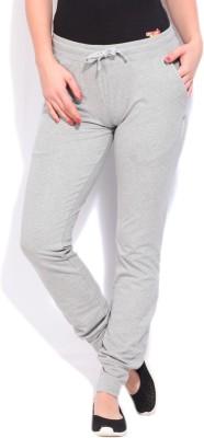 Reebok Solid Women's Grey Track Pants at flipkart