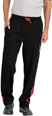 Hbhwear Pro Solid Men's Black Track Pants
