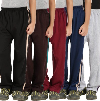 Meril Printed Girls Black, Brown, Dark Blue, Grey, Red Track Pants