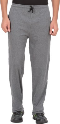 Fit & Fashion Solid Men's Grey Track Pants