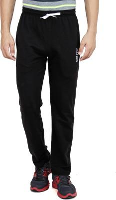 Style Guns Clothing Solid Men's Black Track Pants