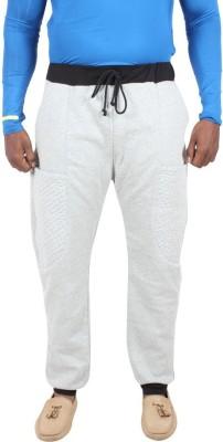 Liash Solid Men's Grey Track Pants