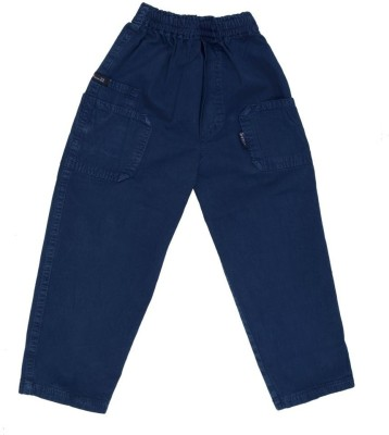 SETVEL Solid Boy's Blue Track Pants