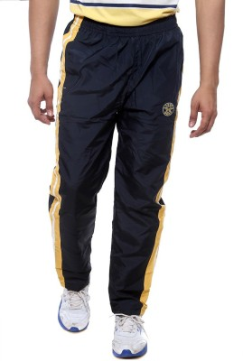 Sports 52 Wear T1295 Solid Men's Dark Blue, Yellow Track Pants