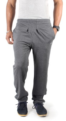 Spur Embroidered Men's Grey Track Pants