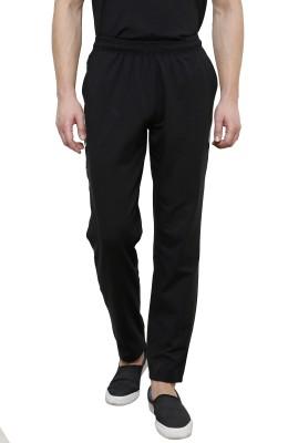 Casual Tees Solid Men's Black Track Pants