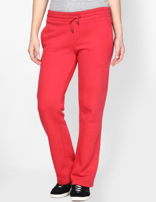 Femella DS-422396 Solid Women's Pink Track Pants