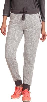 Ativo Solid Women's Grey Track Pants