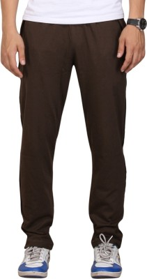 Vego OLIVE PIPING Solid Men's Dark Green Track Pants