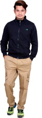 Legmark Solid Men's Yellow Track Pants