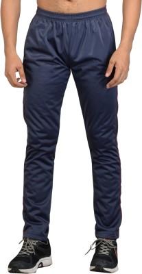 Vego Solid Men's Blue Track Pants
