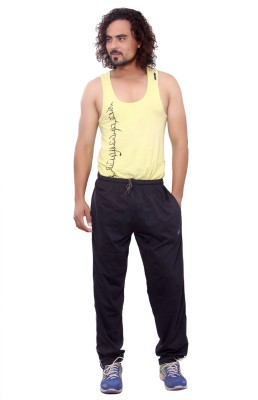 Mountain Colours Self Design Men's Grey Track Pants