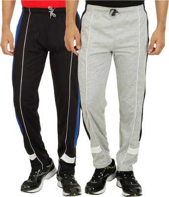 Candy House Solid Men's Multicolor Track Pants