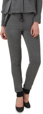 Texco Solid Women's Grey Track Pants