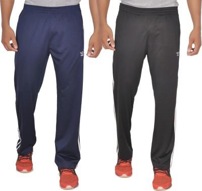 SCHOLAR Solid Men's Dark Blue Track Pants