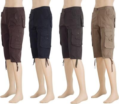 Karwan International Solid Men's Multicolor Track Pants