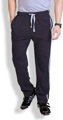 LUCfashion Solid Men's Black, Grey Track Pants