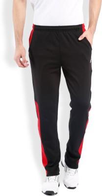 2go Solid Men's Black Track Pants