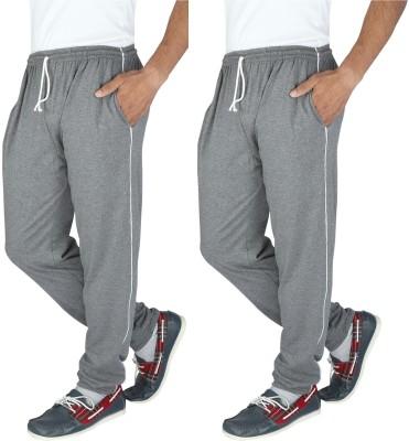 Elexa Solid Men's Grey Track Pants