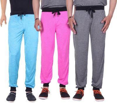 Gag Wear Solid Men's Grey, Pink, Light Blue Track Pants