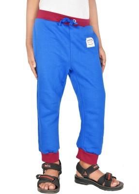 Gkidz Printed Boy,s Blue Track Pants