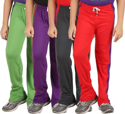 Zippy Solid Boy's Multicolor Track Pants