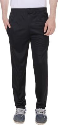 Kalrav Solid Men's Black Track Pants