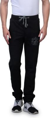 Wear Your Mind Graphic Print Men's Black Track Pants