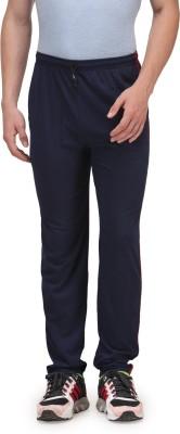 Alfa Active Solid Men's Blue Track Pants