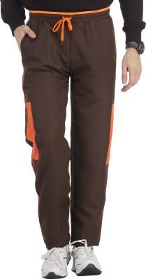 SPAWN Solid Men,s Brown Track Pants