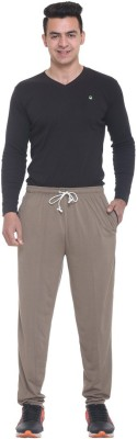 FREE RUNNER Striped Men's Beige Track Pants