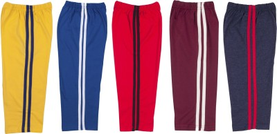 Hunny Bunny Solid Baby Boy's Yellow, Blue, Red, Maroon, Dark Blue Track Pants
