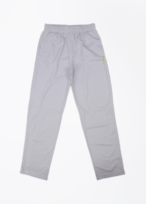 Reebok Self Design Boy's Grey Track Pants